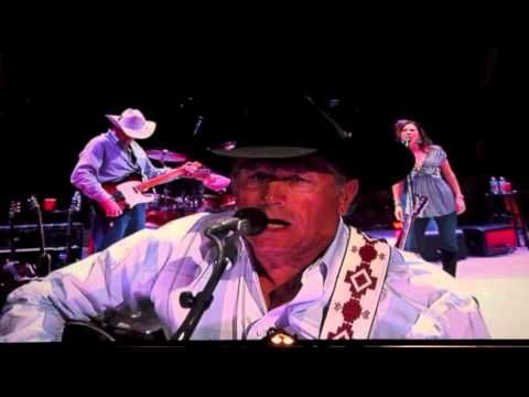 """One of my all time favs from the King """"Honky Tonk Crazy"""" - George Strait - Greenville, SC 3/22/13"""