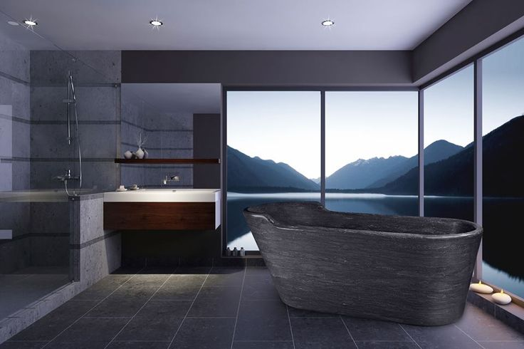 Our bath will create a centrepiece for your bathroom, offering rustic decadence.