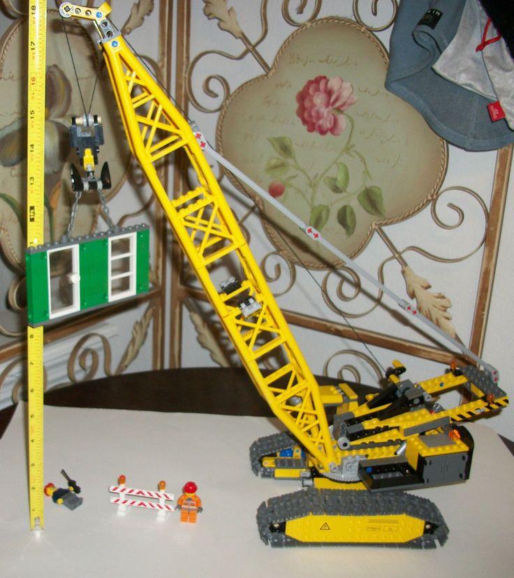 LEGO 7632 100% COMPLETE (NO BOX) Crawler Crane Construction Set City Town  #LEGO
