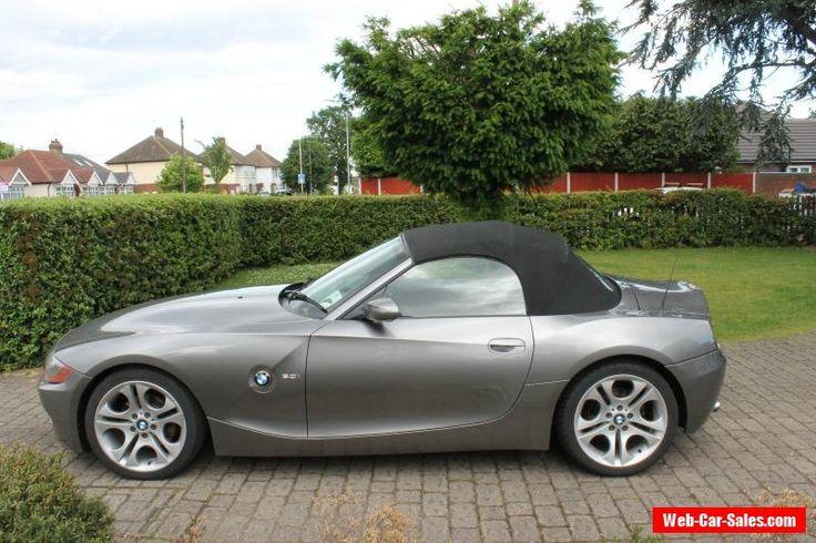 BMW Z4 Convertible 3.0L  Grey - 2003 - VGC #bmw #z4 #forsale #unitedkingdom