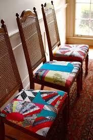 Resultado de imagem para assento para cadeira em patchwork