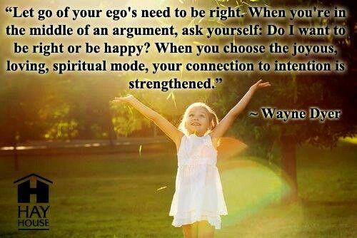 Let Go Of Your Ego's...