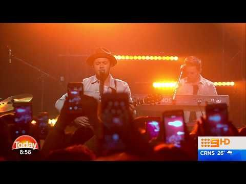 Niall Horan Performs Hit 'This Town' On The TODAY Show Australia 30 June 2017