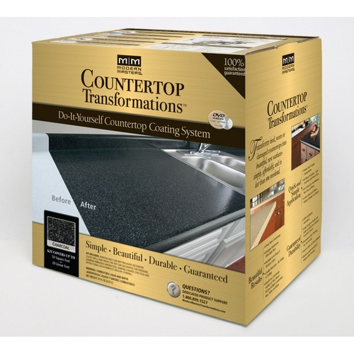 Zoomed Modern Masters Gallon Charcoal Countertop