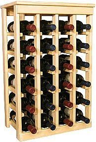 How to Build a Wine Cellar Rack