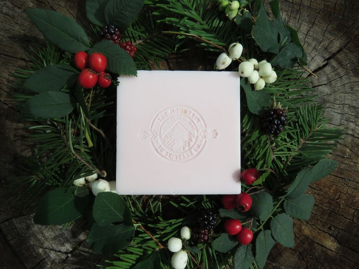 """""""CHRISTMAS"""" ~ BC Wild Glacial Clay Organic soap ~ Made by: THE MOUNTAIN: BC SKINCARE CO. for $15.00 CAD bcmnt.skincareco@gmail.com"""