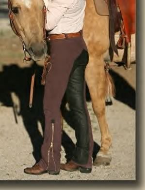 Love, Love, Love my Equissentials  Custom Western Riding Breeches I ordered from The Tailored Horse.
