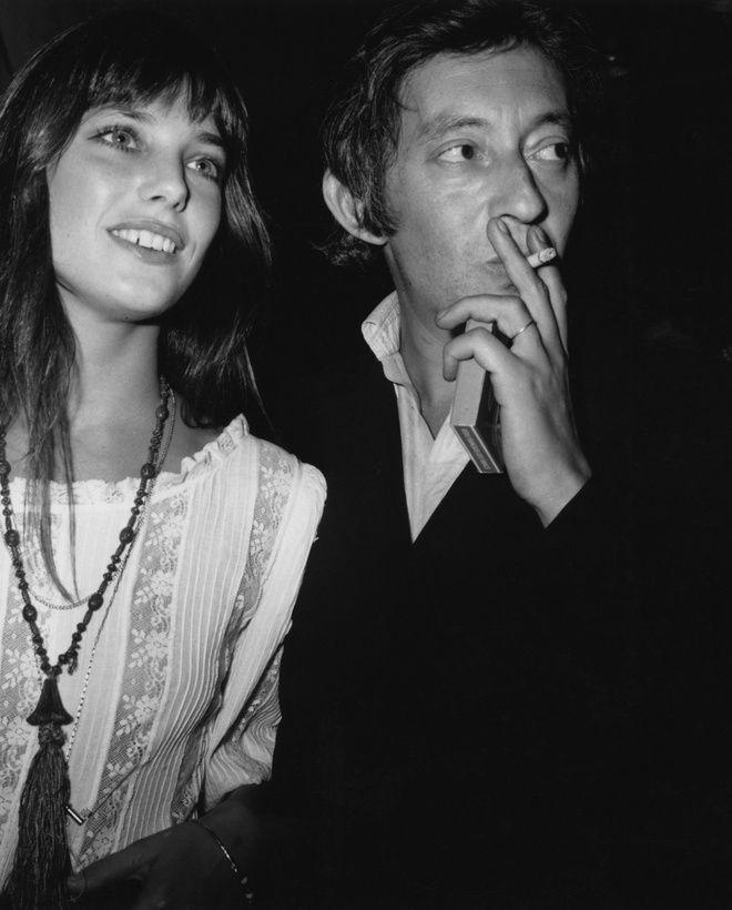 Jane Birkin et Serge Gainsbourg en septembre 1970