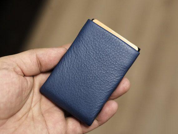 Mens Wallet, Minimalist Wallet, Womens Wallet, Leather Wallet, RFID Wallet - Original Nero RFID Wallet