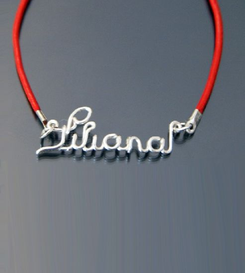 Bratara cu nume, Liliana- Cadouri de Florii, by BanaDesigns, 10 Lei