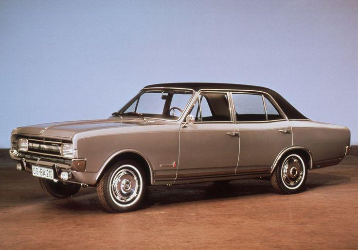 Opel Commodore, 1967