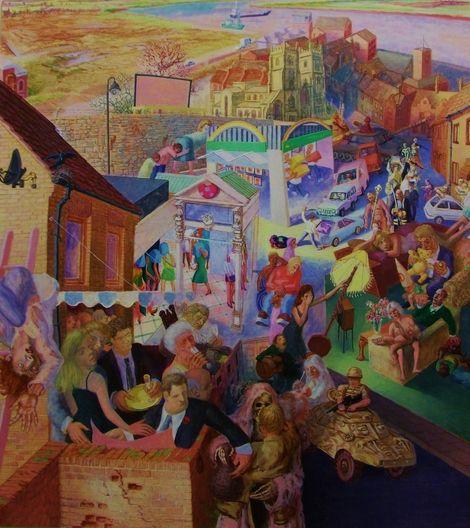 Michael Johnson, Homecoming on ArtStack #michael-johnson #art