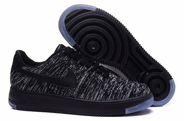 dd4633f81bc air force one pas cher air force 1 flyknit noir et gris homme. chaussure nike  nouvelle ...