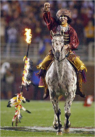 FSU Seminole Football. Renegade & Osceola.