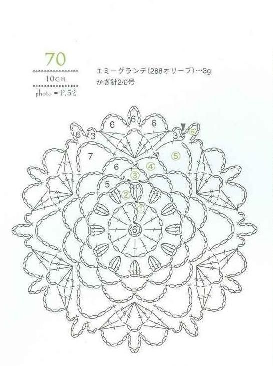 318 best images about crochet motivos  medallones etc on