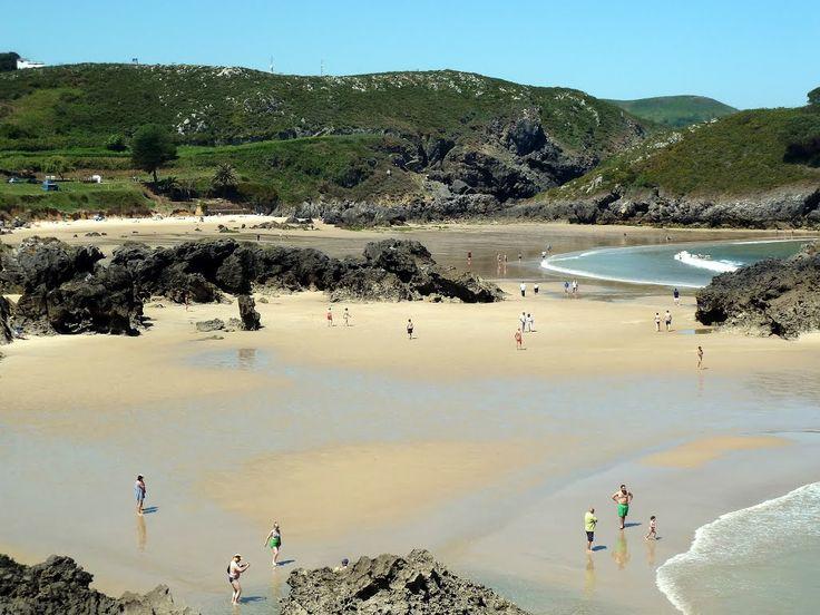 Playas de Barro y Sorraos, Llanes, Asturias. © Antonio Alba