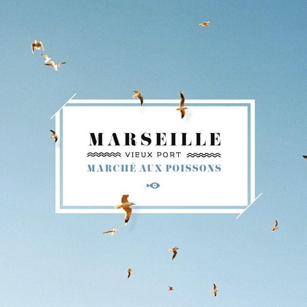 Carte postale Vieux Port Marseille Sometimes