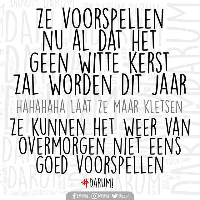Heb vertrouwen!! #darum #wittekerst