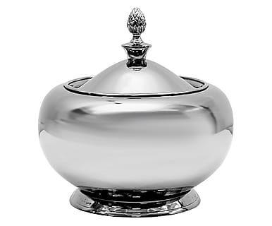 """Pojemnik """"Silver"""", Ø 19, wys. 17 cm"""