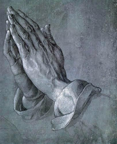 The Praying Hands  1508  by Albrecht Dürer Very touching story behind this painting