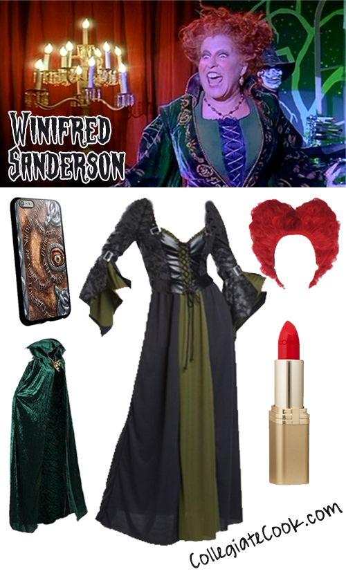 Winifred Sanderson Hocus Pocus Costume - Collegiate Cook