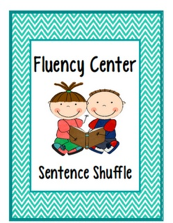 Writing Fluency Center: Sentence Shuffle, Fluency Center, Reading Ideas, Teach123, Sentences, Tips, Elementary Schools, Classroom Ideas, Teaching Elementary