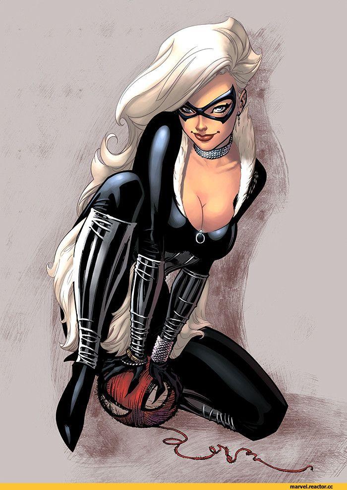 Black Cat,Черная Кошка, Фелиция Харди,Marvel,Вселенная Марвел,фэндомы,logicfun color,J. Scott Campbell,artist