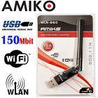 Amiko USB Euro WiFi Micro Stick / WiFi-Bridge / WLAN 150Mbit für Alien 2 Alma
