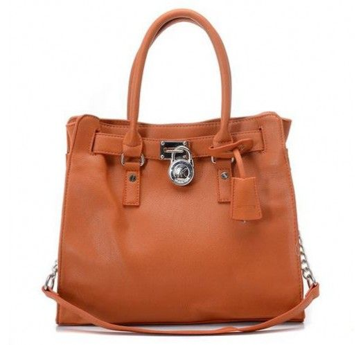 Michael Kors Saffiano Leather Large Brown Totes [mk_0724]