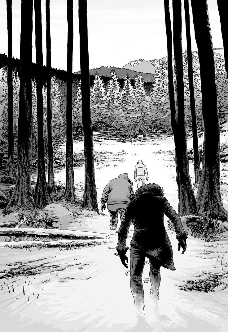 """4 eme de couverture de """" Le temps des sauvages"""" Adaptation du Roman """"Manuel de survie a l'usage des incapables"""" de Sir Thomas Gunzig. BD de 300 pages qui sort chez Futuropolis fin octobre."""