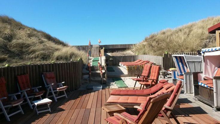 Strandsauna Sylt Hörnum - Unsere Sauna