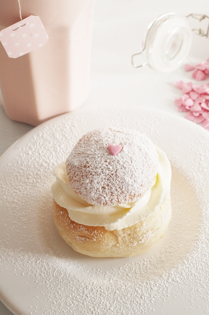 Swedish Semla for Valentines day