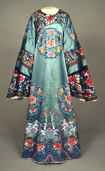 Woman's Robe. Made in China, Asia. Early 20th century.