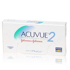 Acuvue 2  Acuvue 2 zijn extra dunne weeklenzen. Acuvue 2 lenzen zijn extra dun. Dankzij hun speciaal ontworpen kanten voelen ze comfortabeler aan en zijn ze eenvoudiger te hanteren. Acuvue lenzen zijn gekleurd voor eenvoudigere hantering en beschermen de ogen tegen de schadelijke UV-stralen van de zon.  Weeklenzen kunnen 1-2 weken worden gebruikt. Ze moeten elke avond voor reiniging worden uitgenomen en de volgende ochtend weer worden ingezet. Volg altijd de aanbevelingen voor gebruik en…