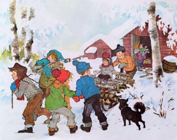 Ilon Wikland: Die Kinder von Bullerbü von Astrid Lindgren.