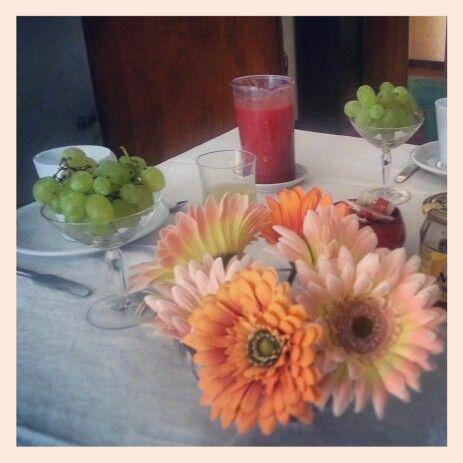 Iniziare la giornata con un fiore...