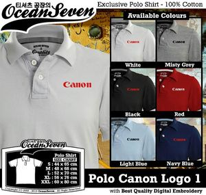 Kaos Polo Canon Logo 1 - PIN BB: 26460DF6