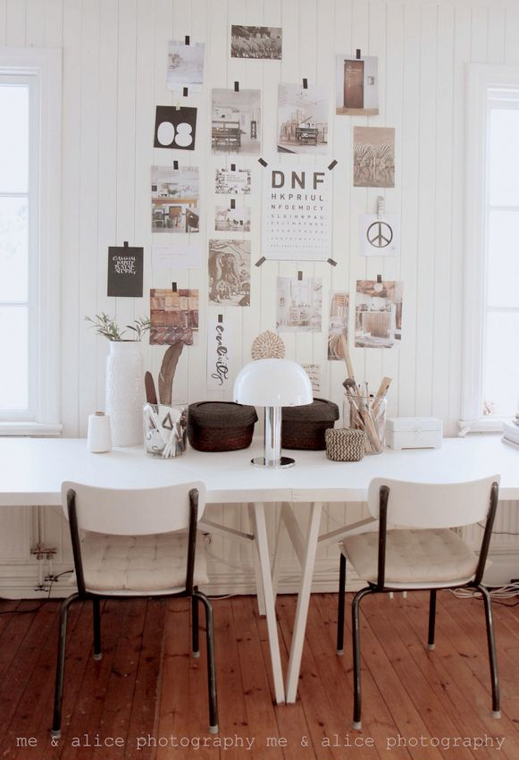 Stick Up Paper Images  With Tape To Create Lovely Gallery Wall Anywhere in your house!