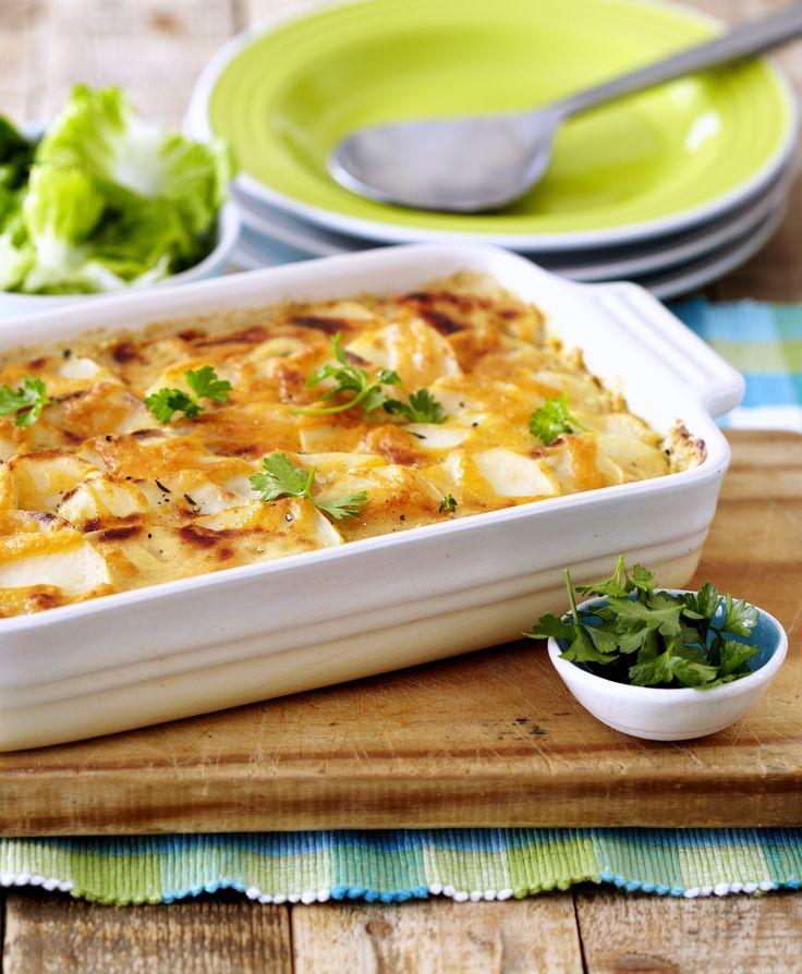 Butternut, Potato & Sundried Tomato Bake - a gorgeous easy bake the whole family will enjoy. #Knorr  #Vegetarian