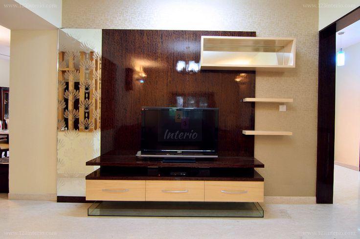 Informal Living Room TV Unit
