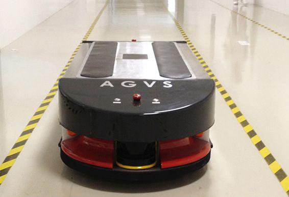 Robot móvil AGVS | Robotnik