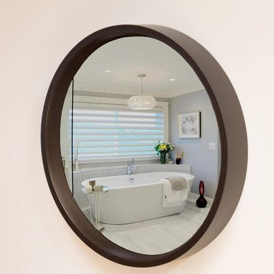 Reflecting Design Pazzo Flat Wall Mirror Finish: