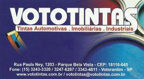 VOTOTINTAS TINTAS AUTOMOTIVAS IMOBILIÁRIA E INDUSTRIAL