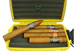 Father's Day Cigar Sampler 5-Cigar Bundle w/ Case $39.99 Free Shipping