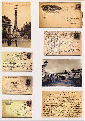 Our miniatures – Printables: Postcards and envelopesTamara Sharp
