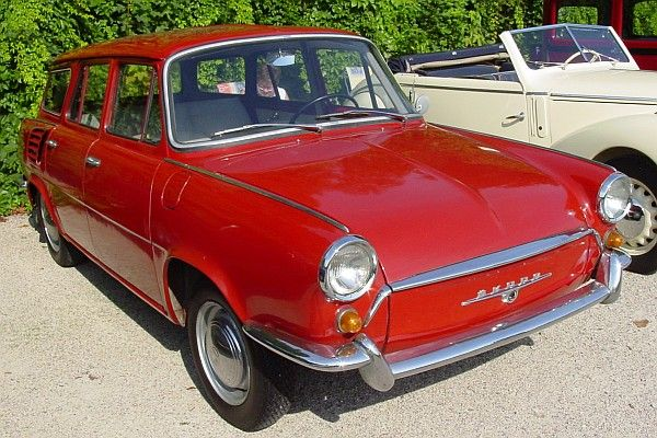 OG | 1965 Škoda 1000 MB Kombi | Prototype