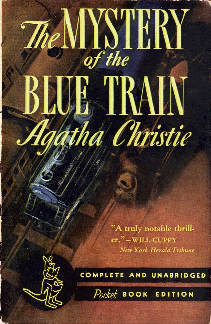 The Mystery of the Blue Train by Agatha Christie. Pocket Book edition.
