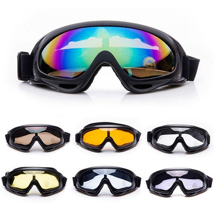 Deportes de Nieve en invierno Esquí Snowboard Snowmobile Skate Esquí Anti-vaho Gafas A Prueba de Viento A Prueba de Polvo Gafas UV400 Gafas de Sol