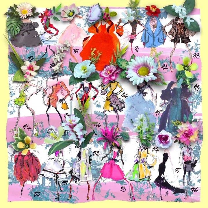 """D'un battement d'ailes, ce majestueux papillon dévoile notre collection """"Rêveries"""" dans un décor presque irréel.  A majestic butterfly unveils our """"Rêveries"""" collection in a marvelous and unreal set. #ChristianLacroix #ChristianLacroixMaison #Lifestyle #Porcelain #Tableware #ArtDeLaTable #HomeDecor #InteriorDesign #LacroixLovesFlowers #Rêveries #Paris"""