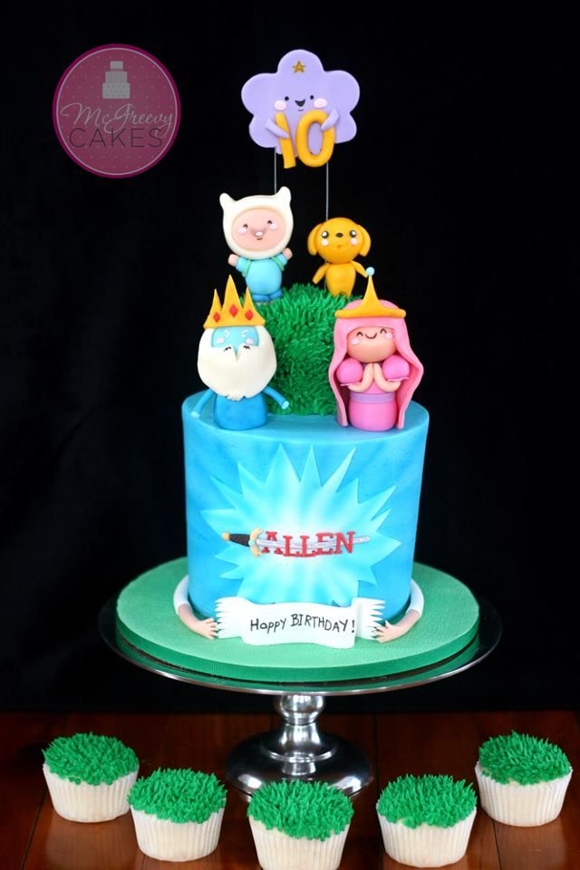 17 Best Images About Adventure Time Cakes On Pinterest
